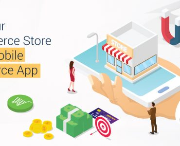 eCommerce store into a mobile commerce app