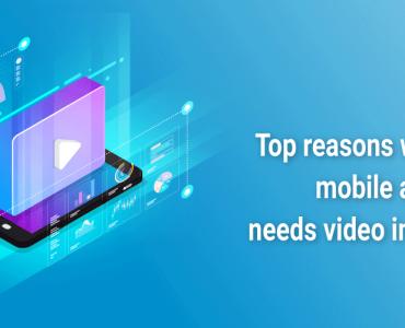 video integration in mobile app