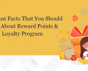 Reward points and loyalty program for customer retention
