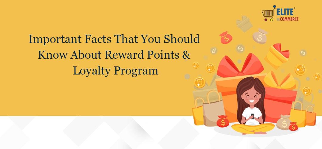 Reward points and loyalty program for customer retention