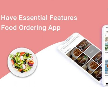 features of food ordering app
