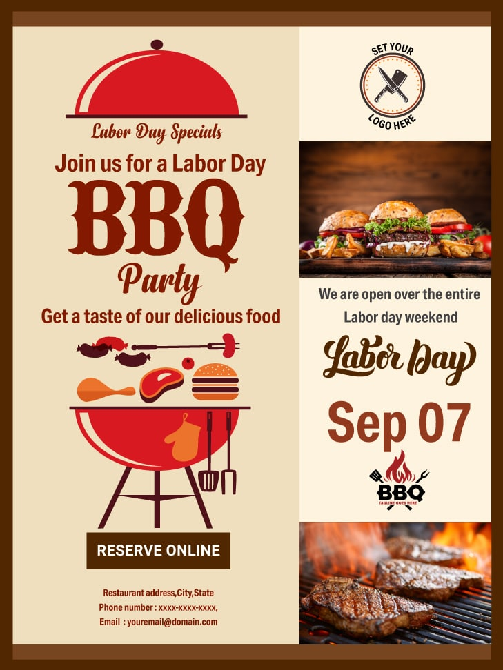 Labor day email template