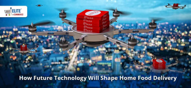 drone for future food delivary