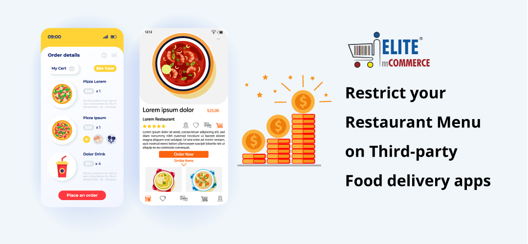 Restrict your Restaurant Menu