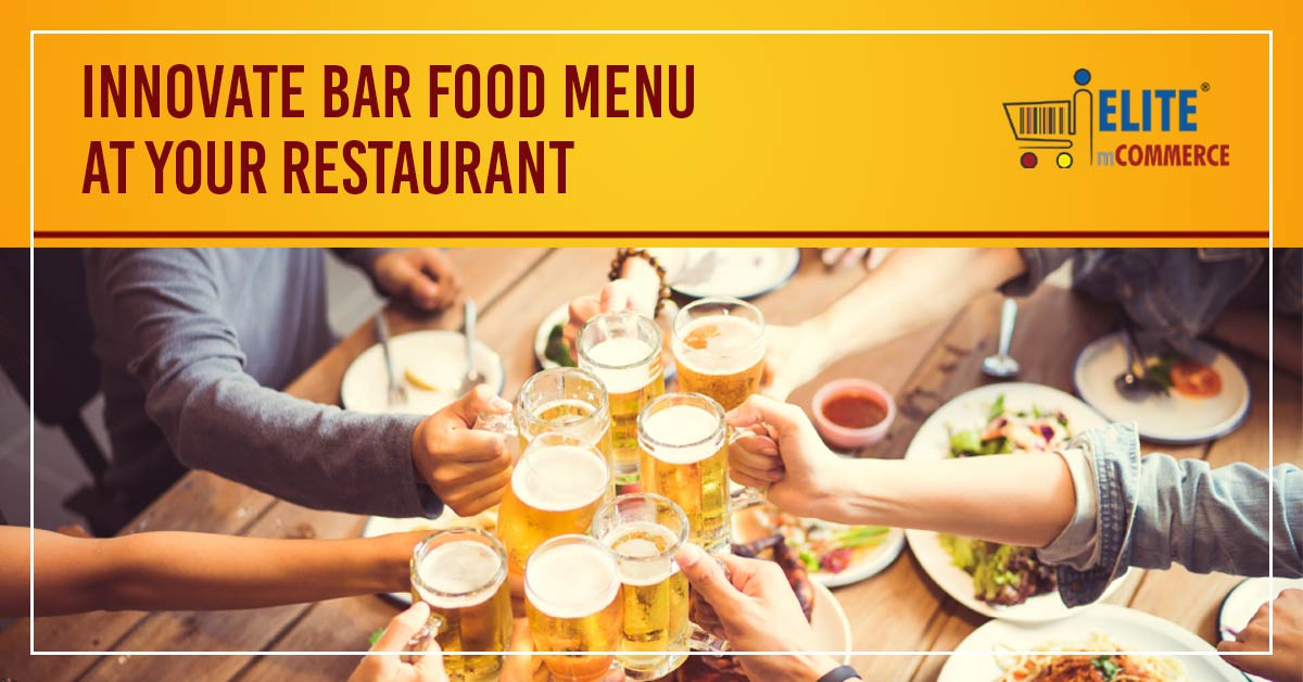 bar food menu