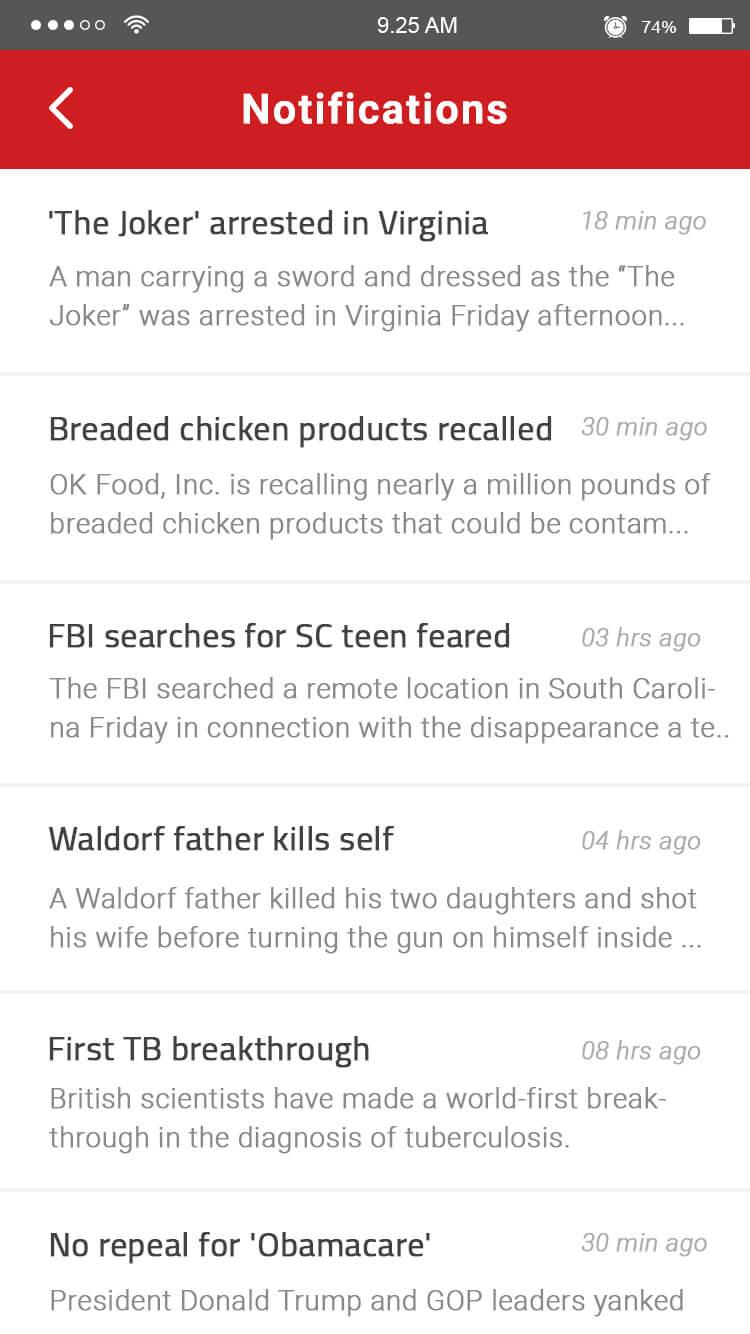 news app notification