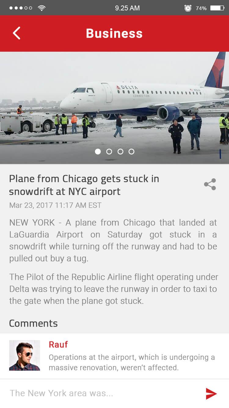 wordpress news app