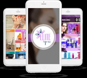 elite beauty salon app