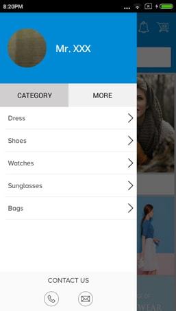 Magento app builder menu page