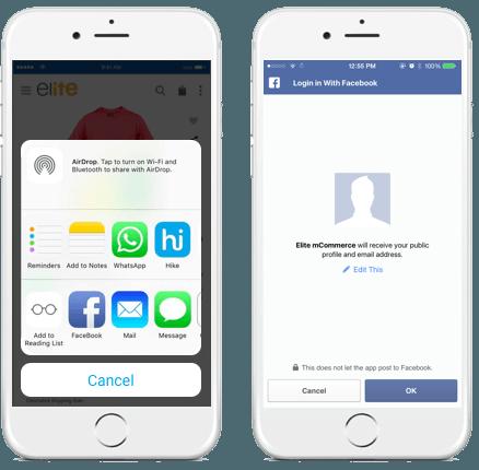 Social Share & Social Login
