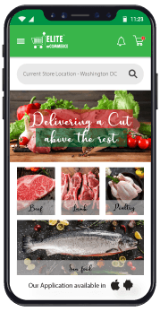 Ready Made Meat Mobile App solution