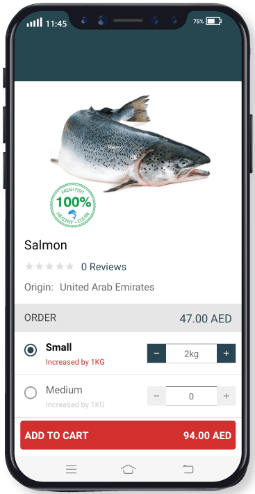 Salmon Small - Meat App