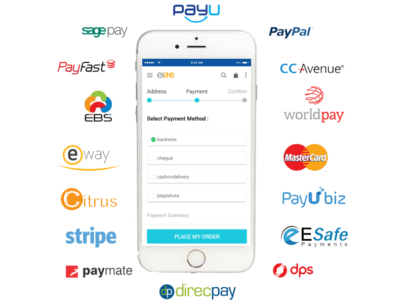 Compatible Payment gateways
