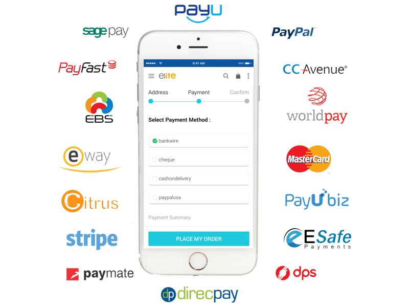 Compatible Payment gateways