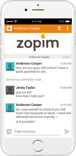 Zopim Chat Integration