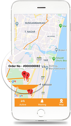 Track active orders