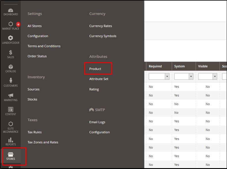 How to Add Products from Attributes Main Page